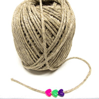 1/8 inch Hemp Cord for bird toys