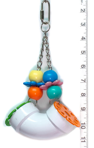 PVC Forager Bird Toy