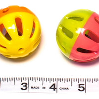 Plastic shaker ball talon toy