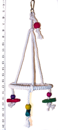Small Rope Tri Swing