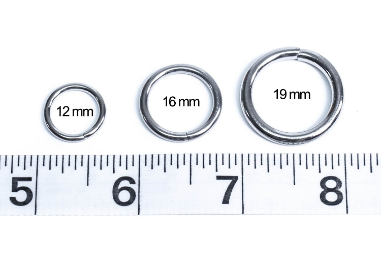 12mm Stainless Steel O-Rings