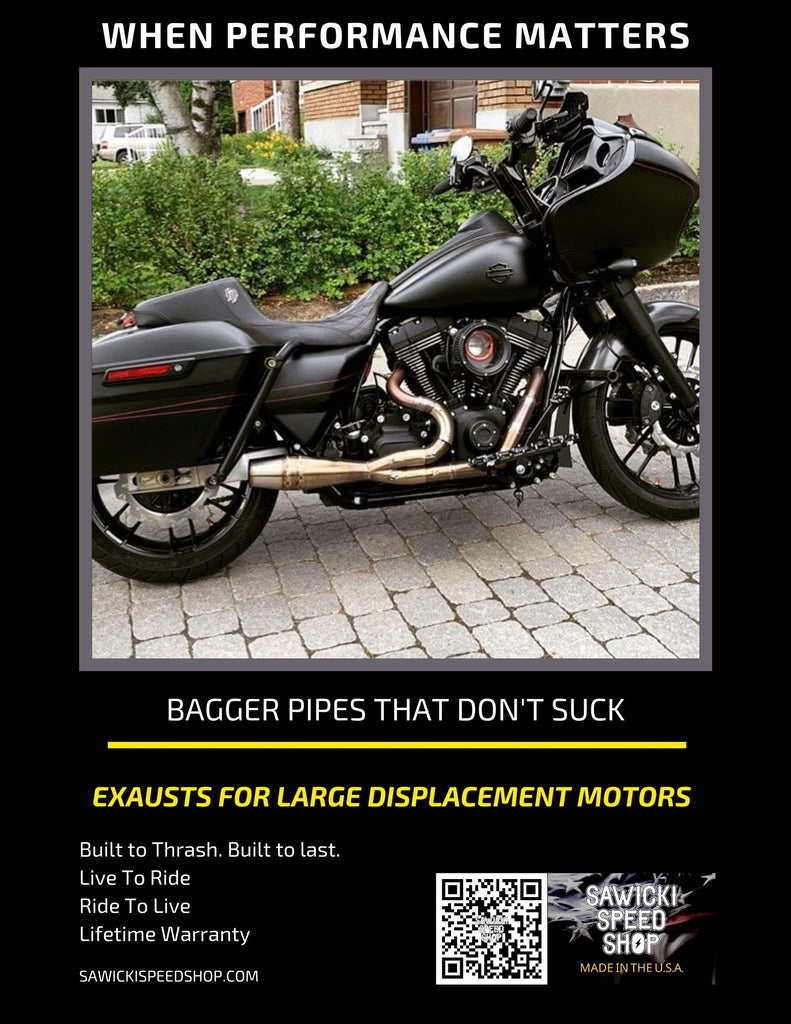 Harley Bagger Exhaust System