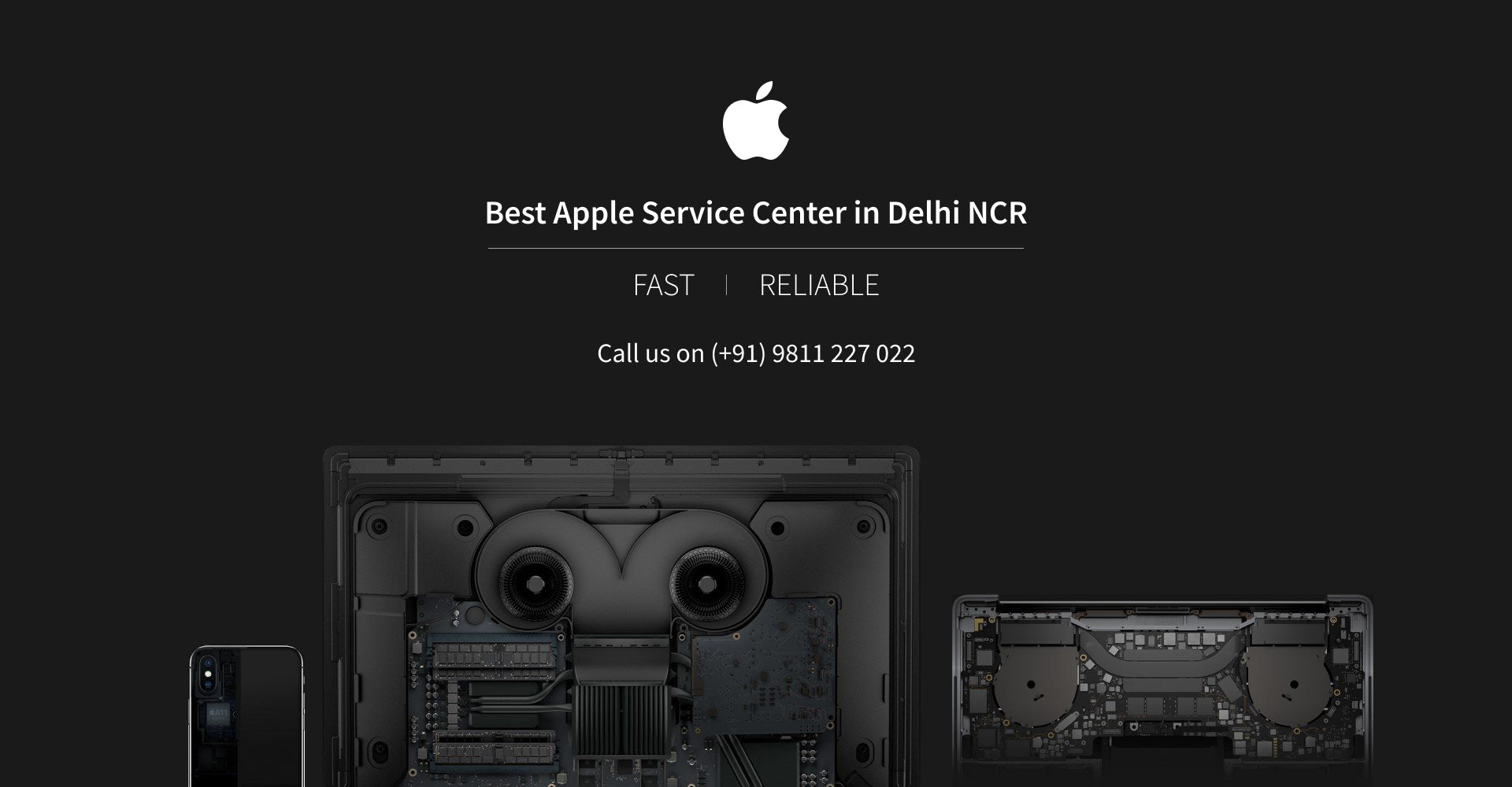 Best Apple Service Center in Delhi NCR. Fast and Reliable. Call - 9811227022
