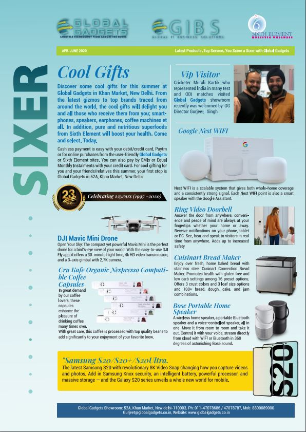 Sixer - Read our Latest Newsletter