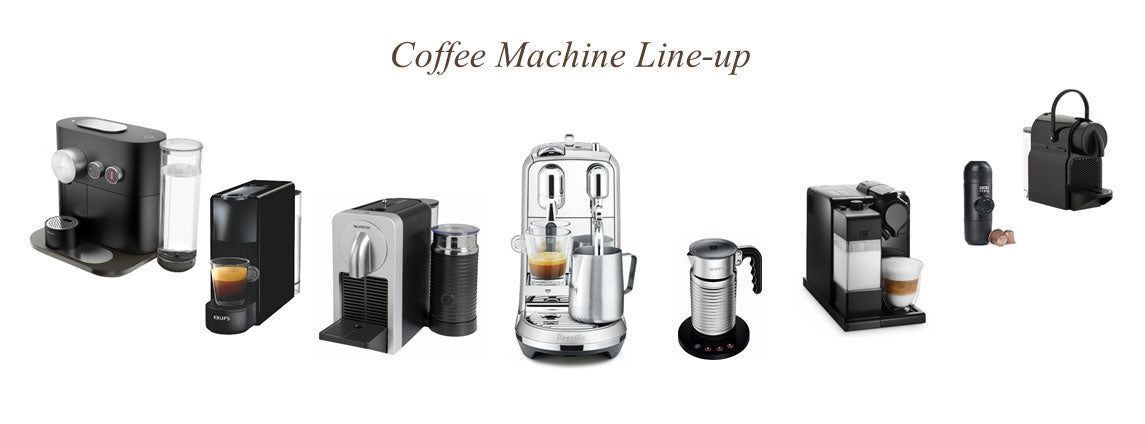 Nespresso Coffee Machine Line-up