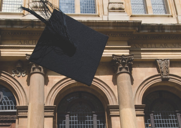 Thrown mortar board