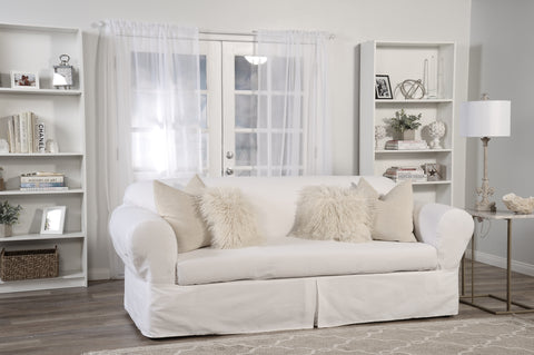 Twill 2 Piece Loveseat