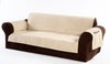 Micro suede sofa with Pocket