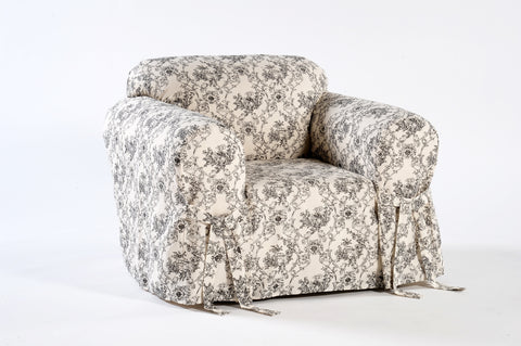 Toile Print Chair