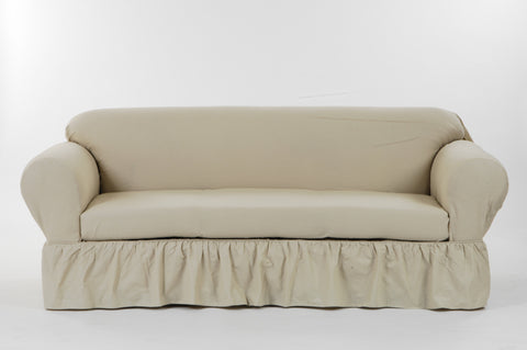 Washed Cotton Duck 2 Piece Sofa