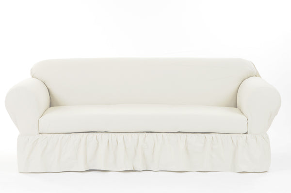 Washed Cotton Duck 2 Piece Sofa The Slipcover Company