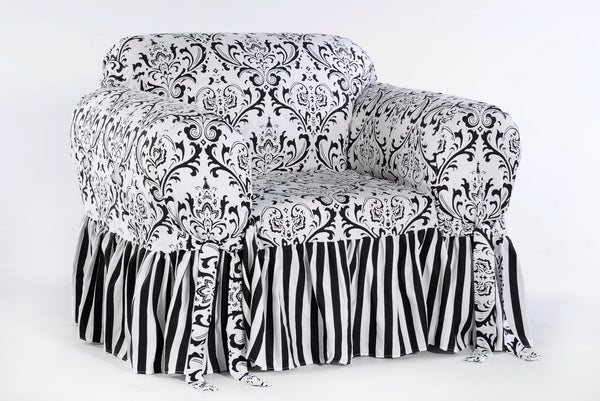 Damask Stripe Chair