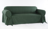 Cotton Duck one piece Loveseat slipcover