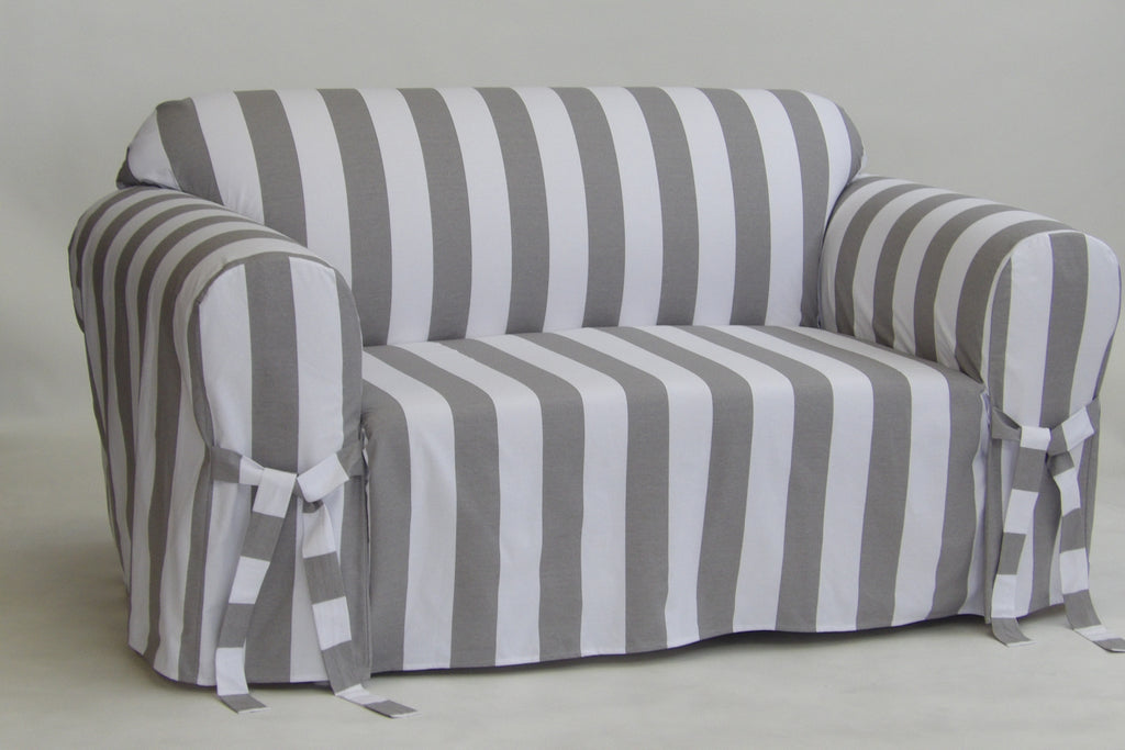 Cabana Stripe Collection Loveseat