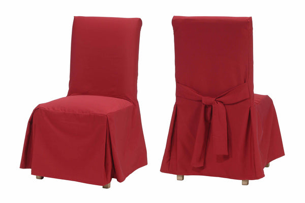 Ottoman Dining Chair Slipcover