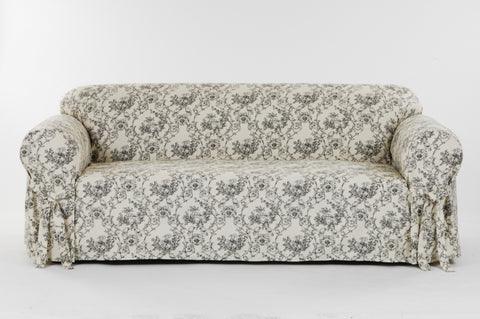 Toile Print Sofa or loveseat