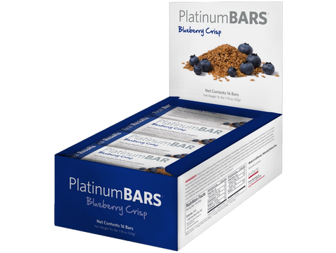 Platinum Lifestyle Bars Total Body Health and Performance Support