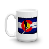 Colorado Flag Uphill Touring Mug