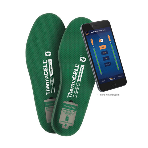 ThermaCELL ProFLEX Heavy Duty Heated Insoles
