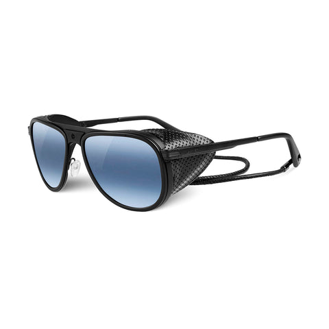 MATTE BLACK/BLUE LENS POLARIZED - VL131500060636