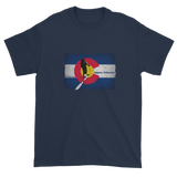 Colorado Flag Uphill Touring T-Shirt