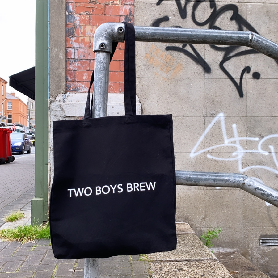 TWO BOYS BREW Tote Bag