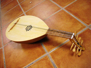 Small Medieval Lute 42cm