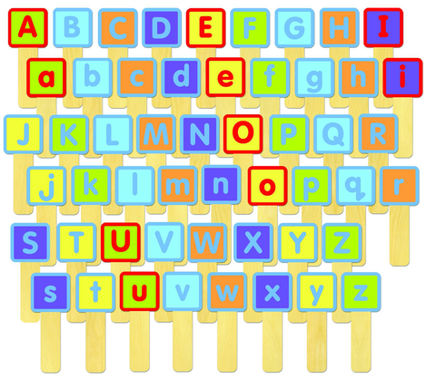 ABC Sticks -classroom set