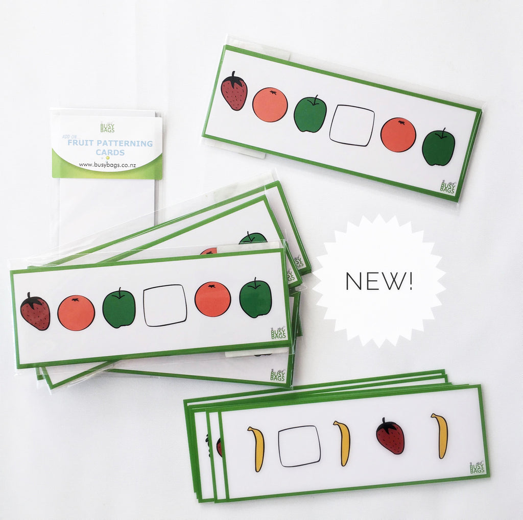 Fruit Patterning Cards