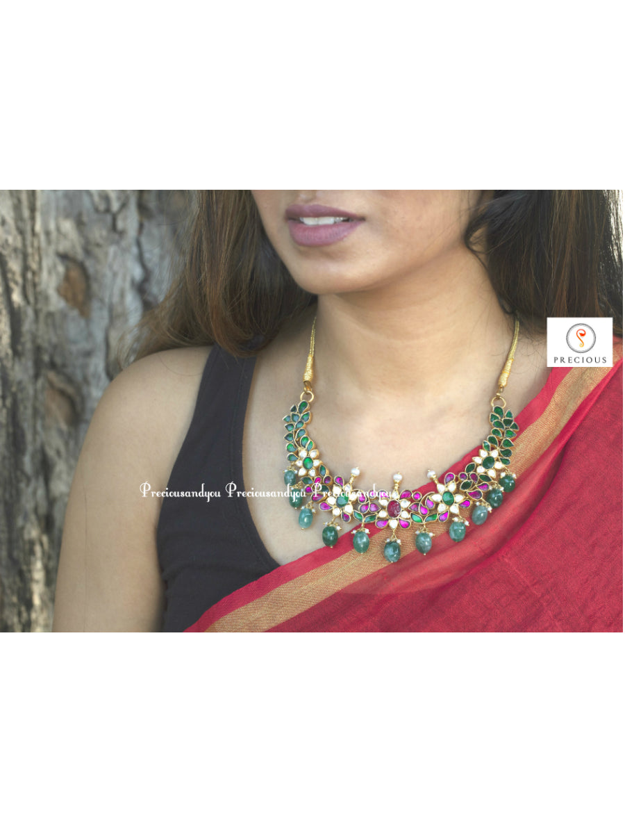 Kundan necklace 2