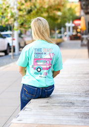 K&C - Best Things In Life Are Sweet (Celadon) - Short Sleeve/Crew