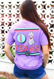 K&C - I Heart Texas - Lavender