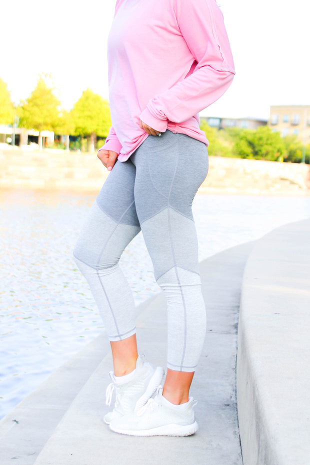 JLB 3 Tier Leggings - Shades of Grey