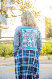 Two Facts Of Life (Blue Jean) - Long Sleeve