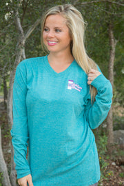 Sip Me Baby (Heather Jade) - Long Sleeve