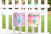 Soft Cooler (Multi) - Poolside Stripe