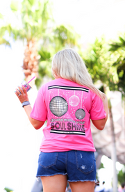 Soul Shine (Heather Pink) - Short Sleeve / V-Neck