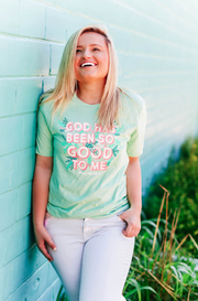 TSL - Good To Me (Prism Mint Heather) - Short Sleeve / Crew