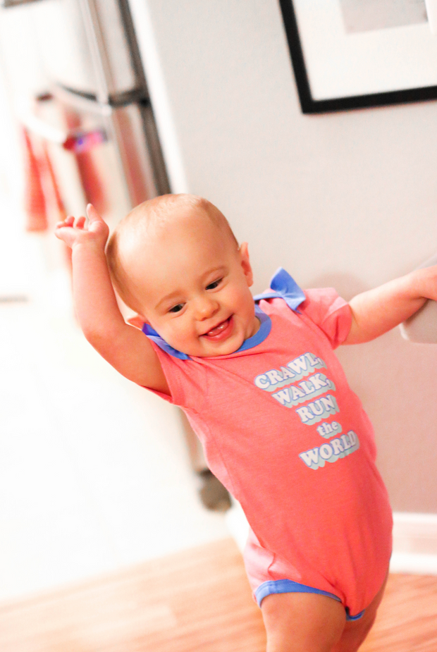 Tiny Tinies - Run The World (Pink Heather) - Onesie