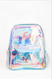 Backpack (Ice Blue Clear Iridescent)