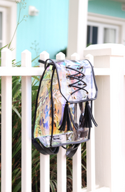 Backpack (Black / Clear)