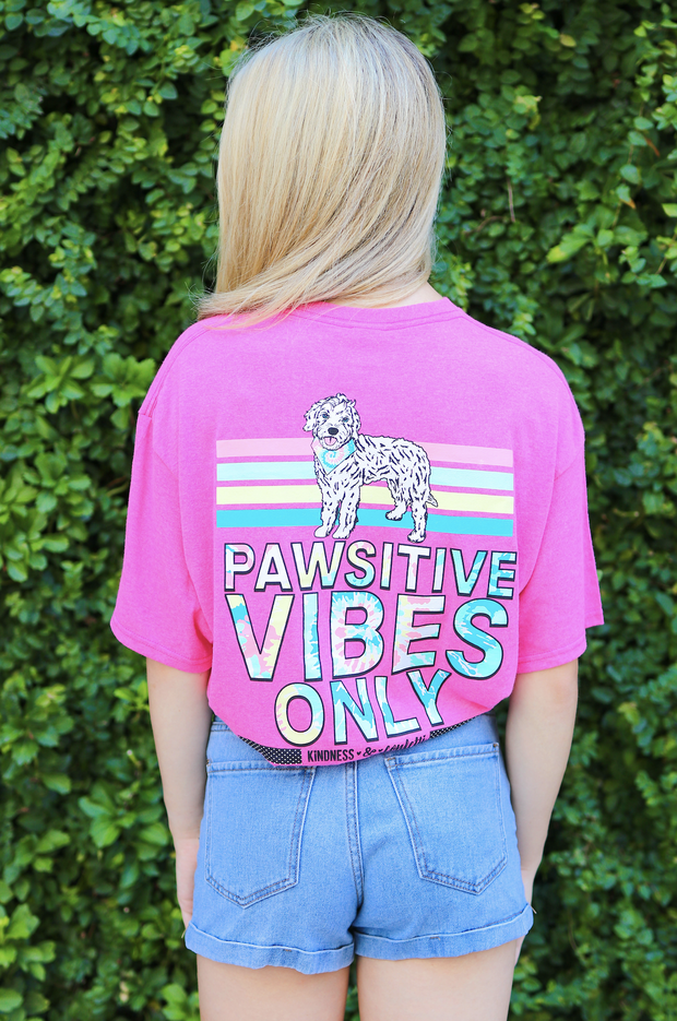 K&C - Pawsitive Vibes Only - Heliconia Heather