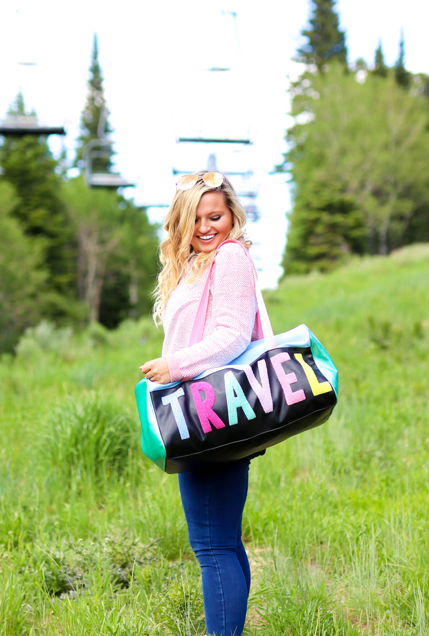 Travel Duffle (Black)