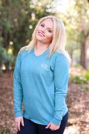Best Friends (Jade Heather)  - Long Sleeve / V-Neck