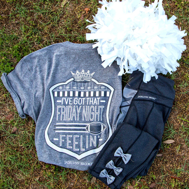 I've Got That Friday Night Feelin' (Dark Grey) - Short Sleeve