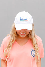Cap - Blessed - White