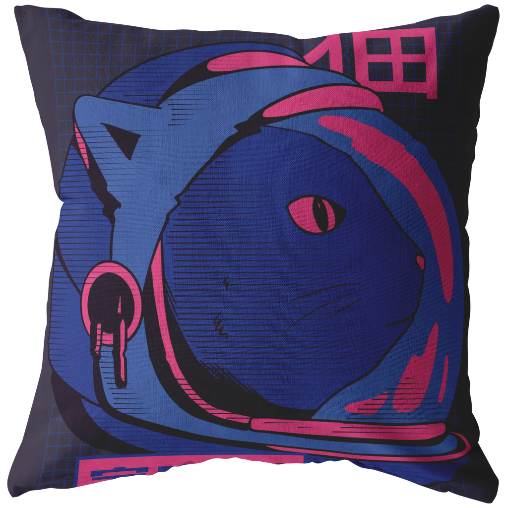Space Cat Pillow