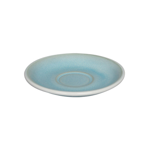 Loveramics Reactive Glaze Potters Flat White / Cappuccino Saucer (Ice Blue) 14.5cm