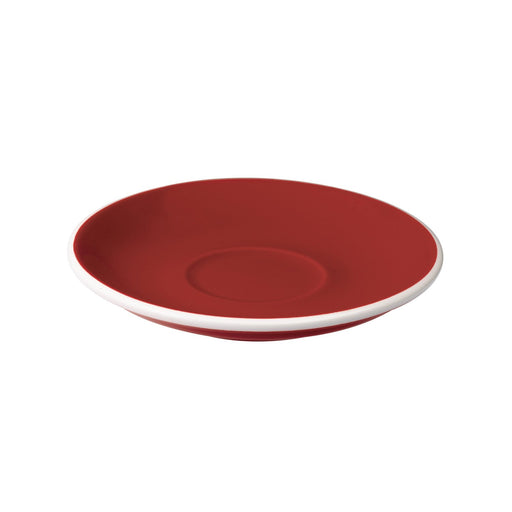 Loveramics Egg Cappuccino / Flat White Saucer (Red) 14.5cm