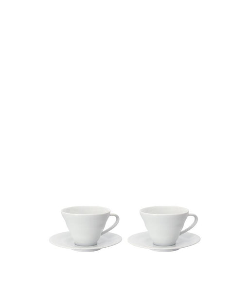 Hario Ceramic Cup & Saucer Set (2pc)